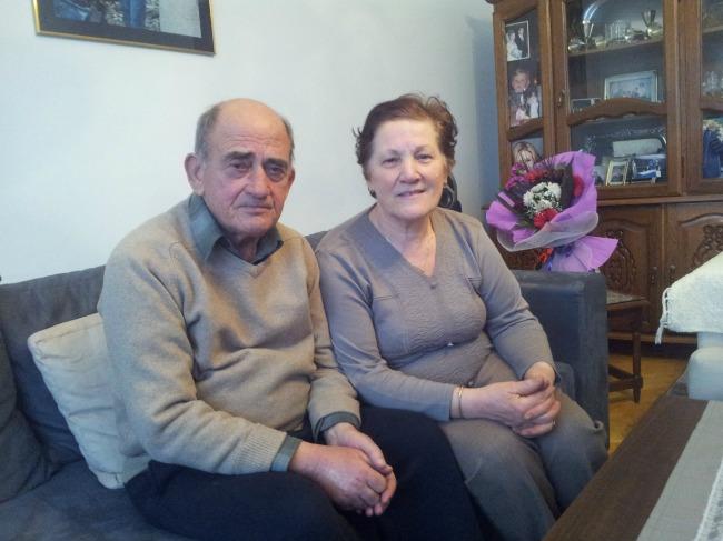 Prindërit e Mimozës, Adem dhe Shasine Kusari në shtëpinë e tyre